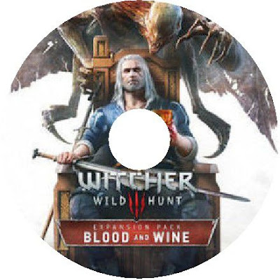 Label  The Witcher 3  Wild Hunt - Blood and Wine PC