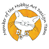 Proud to be a Hobby Art design team member and Stamp Designer