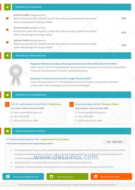 Contoh Cv English Yang Menarik Free Document Resume Samples