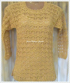 free crochet top pattern, free crochet shelled top pattern