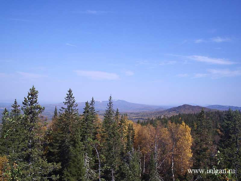 Гора Большая Калагаза. Хребет Москаль. Национальный парк ...