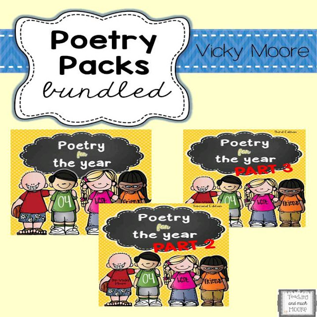 Poems for a year bundle