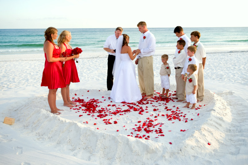 Beach Wedding Photos Gallery 2