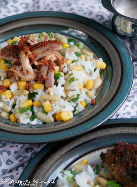 recykling jedzeniowy, szybka sałatka, błyskawiczna kolacja, fasolka zielona flażoletka, daylicooking, Małgorzata Kijowska