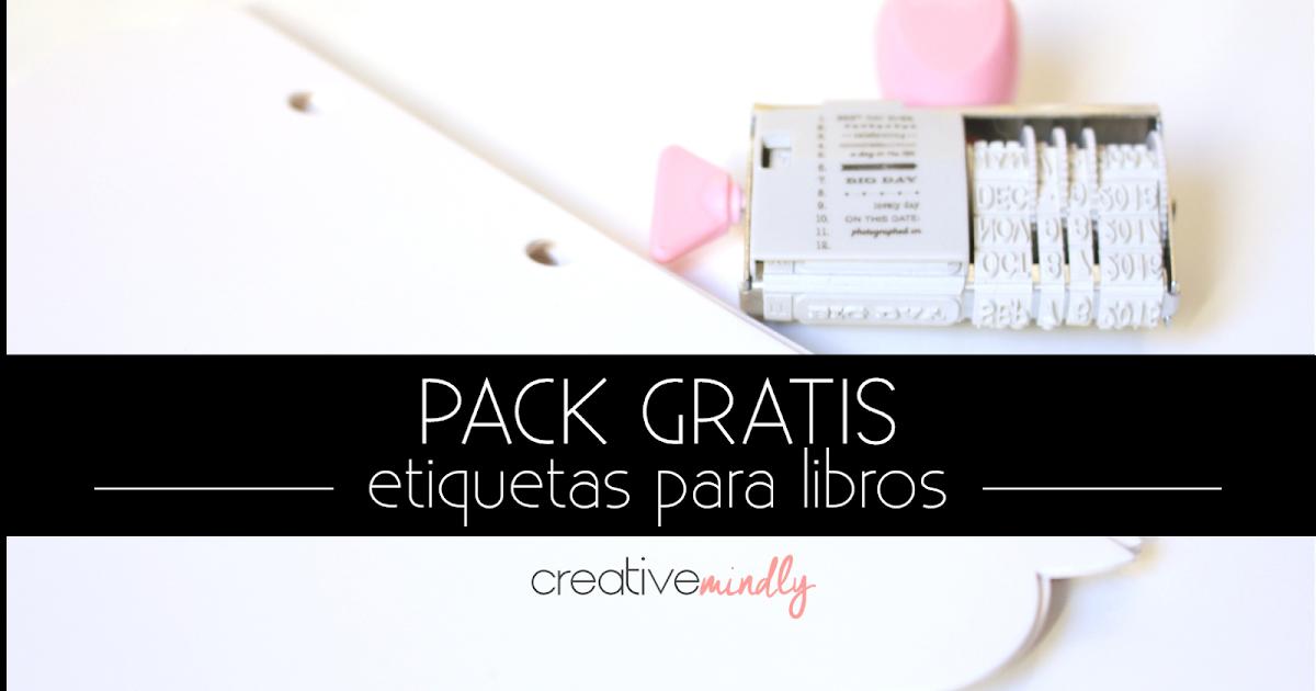 Creative Mindly: Etiquetas Para Libros Para Descargar