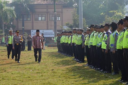 Apel Gelar Pasukan Dalam Rangka Operasi Ketupat Candi 2018 Polres Jepara