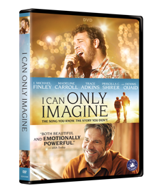 I CAN ONLY IMAGINE (movie DVD)