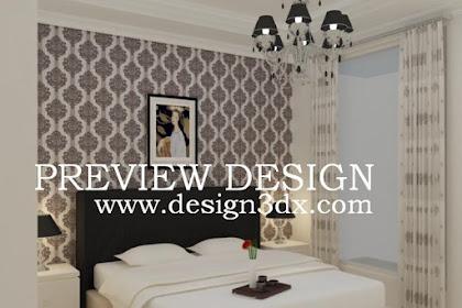 Jasa desain kamar tidur idaman murah berkualitas