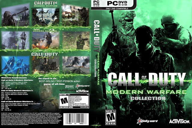 Capa Call Of Duty Collection PC