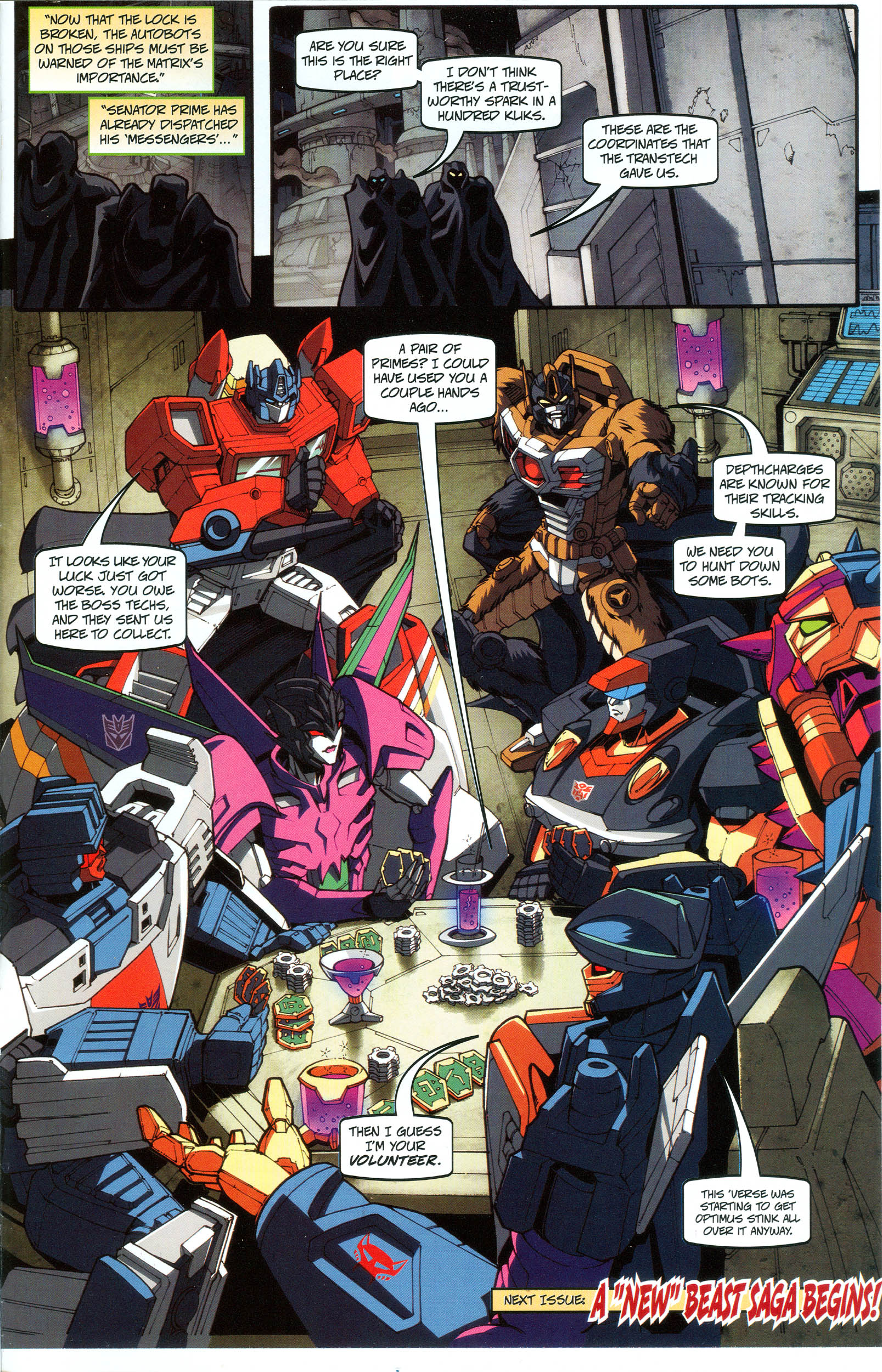 Read online Transformers: Collectors' Club comic -  Issue #48 - 15