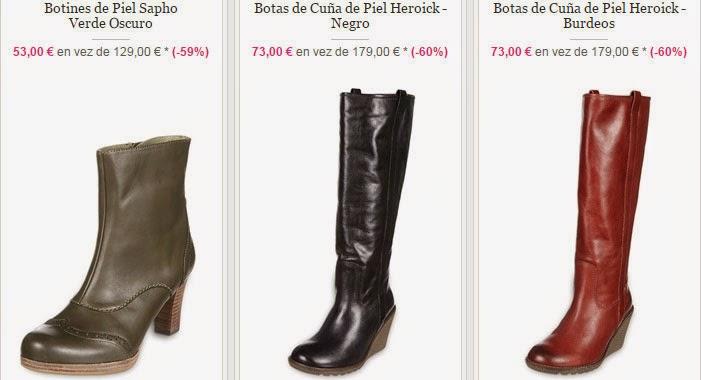 Tres modelos de botines y botas que tienes en esta oferta