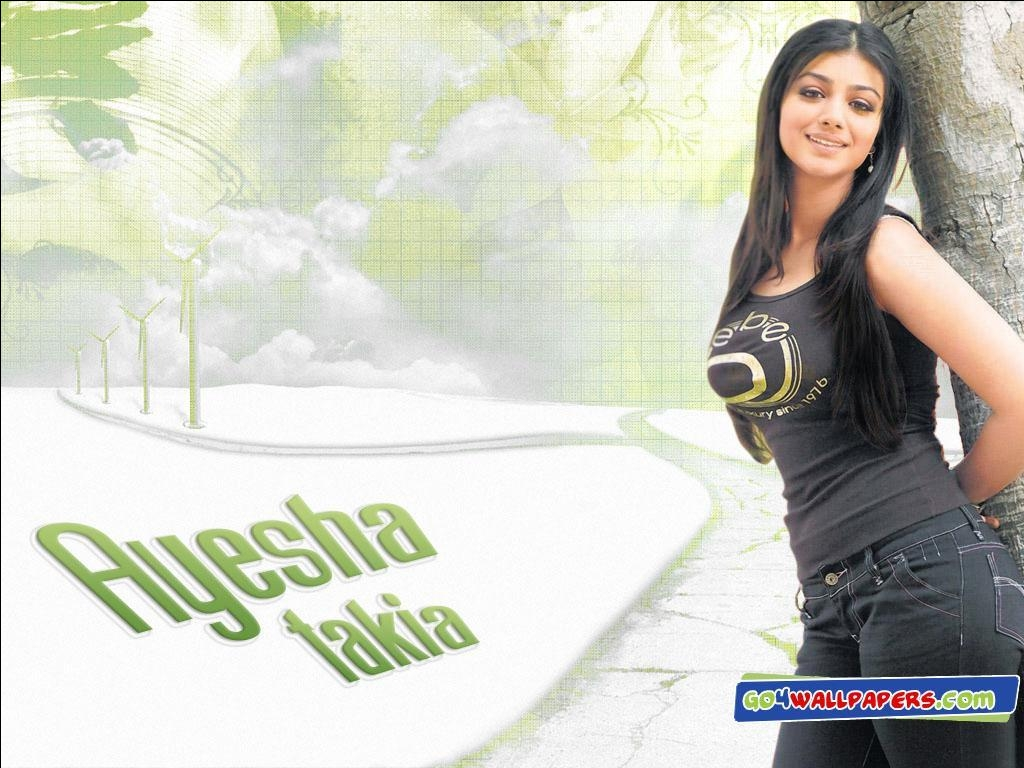 Actress Hot Stills Ayesha Takia Desktop Wallpaper-8024