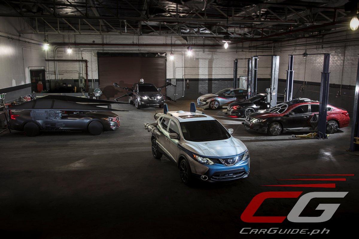 Car Wars: Nissan Shows Off 7 Star Wars: The Last Jedi Inspired