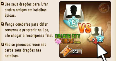 Novas Ligas do Dragon City