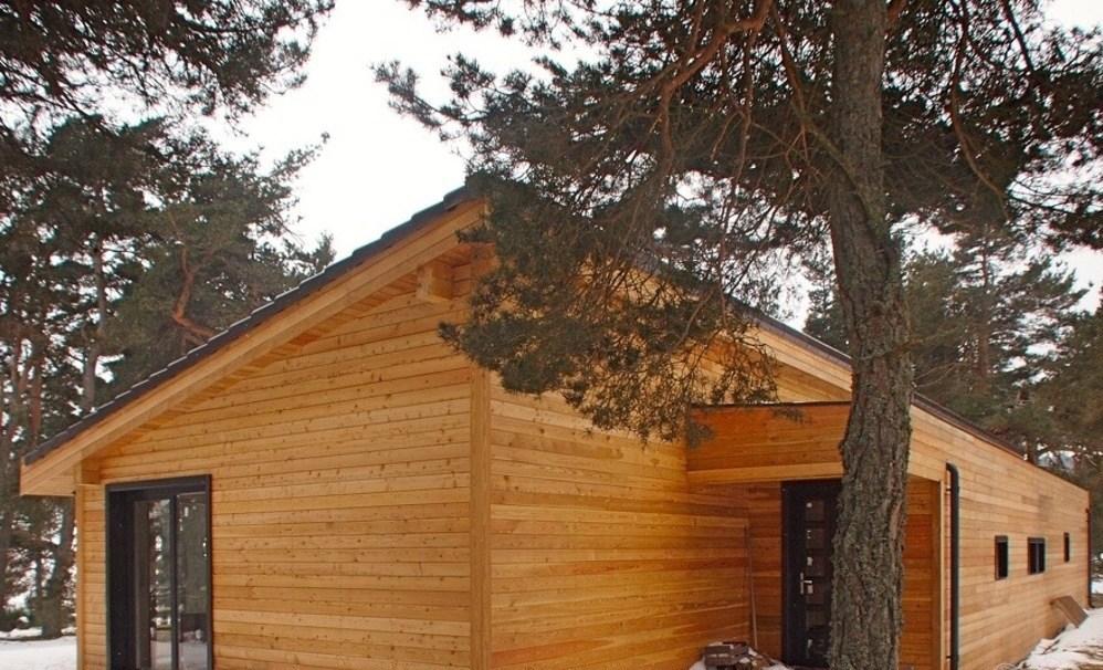 trending wooden house