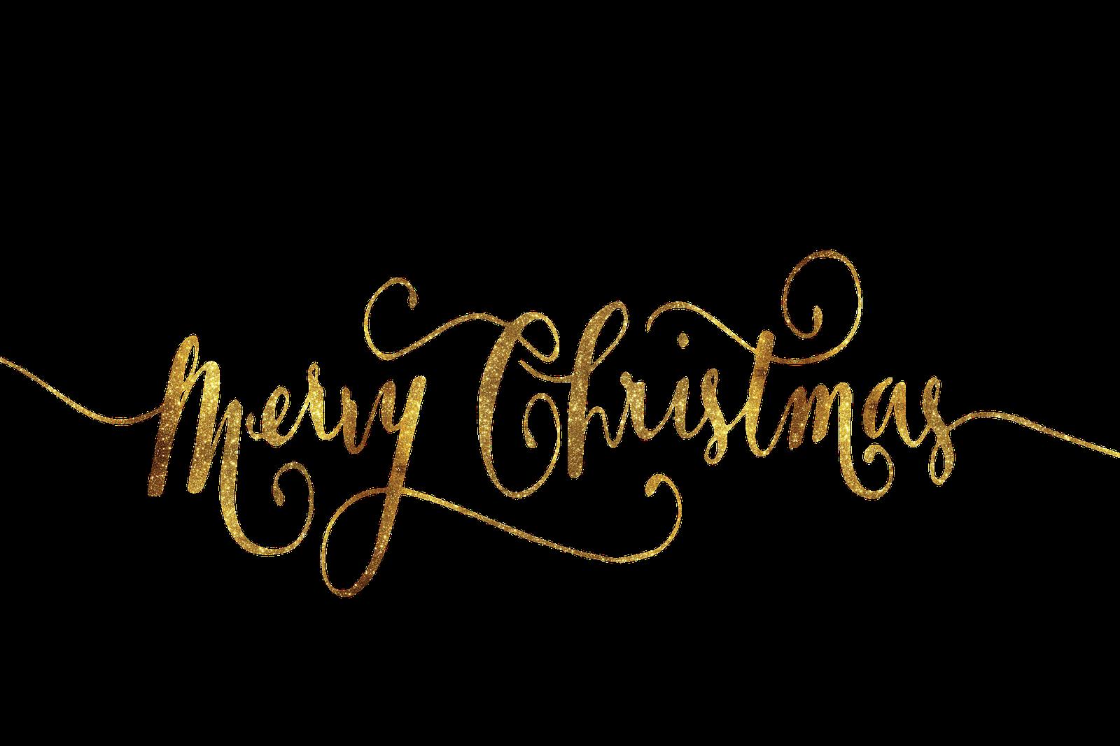 Immagine della scritta d'auguri Merry Christmas
