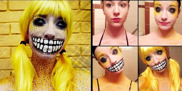 http://prazdnichnymir.ru/ Стань звездой! Креативный макияж и идеи для Хэллоуина