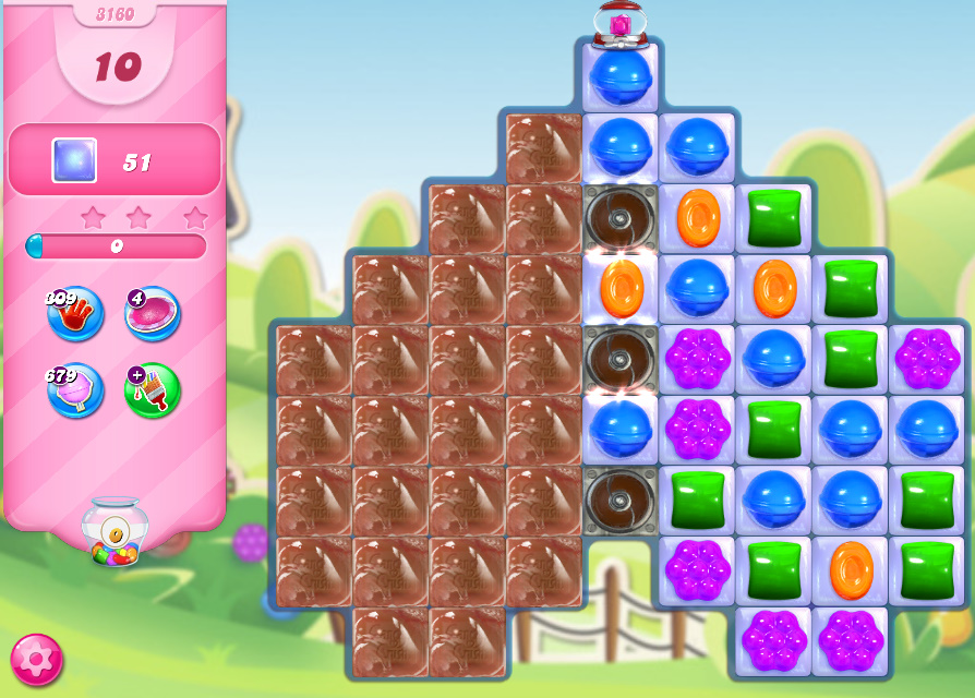 Candy Crush Saga level 3160