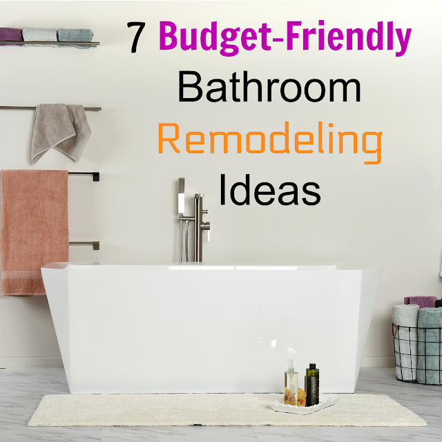 budget decor ideas, decorating on a budget, tips for a cheap remodel, instant bathroom makeover