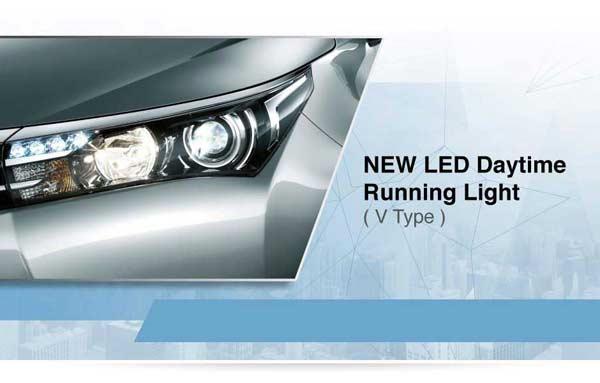 Exterior All New Toyota Corolla Altis