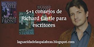Consejos de Richard Castle para escribir novelas