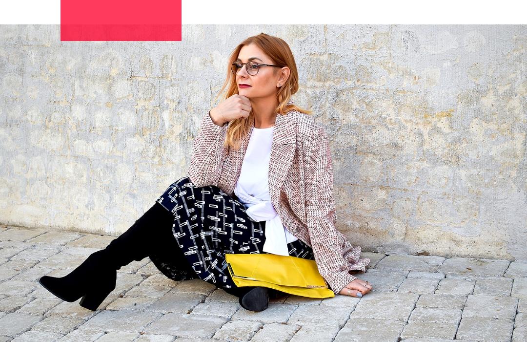 Meine Modeklassiker Look Mit Maritimen Farben Buro Outfit In