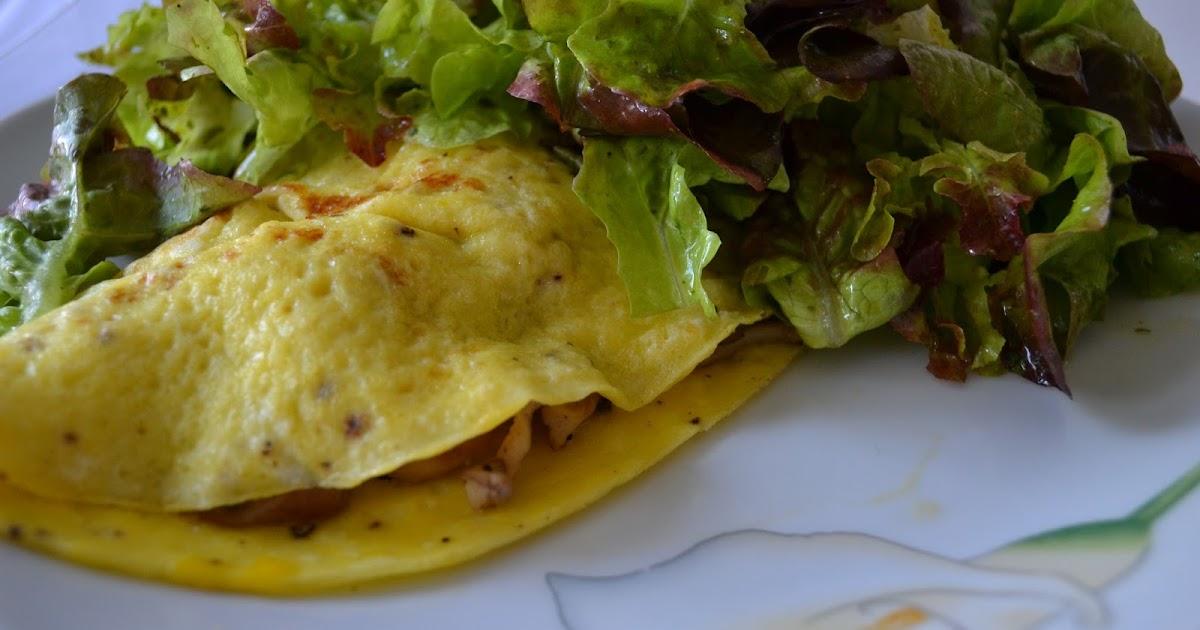 gute nahrung macht gl cklich omelett mit pilzen. Black Bedroom Furniture Sets. Home Design Ideas