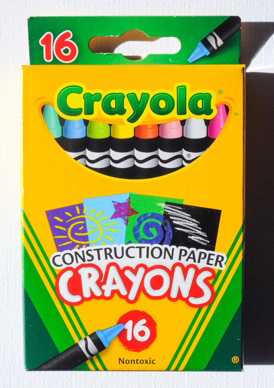 construction paper crayons Crayola construction paper crayons offer bright color laydown on colored and kraft paper.