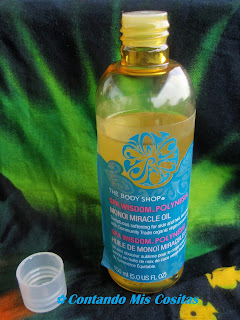 aceite monoi the body shop