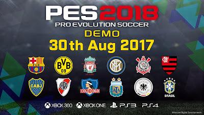 Nih Dia Jadwal Rilis PES 2018 Demo untuk PC