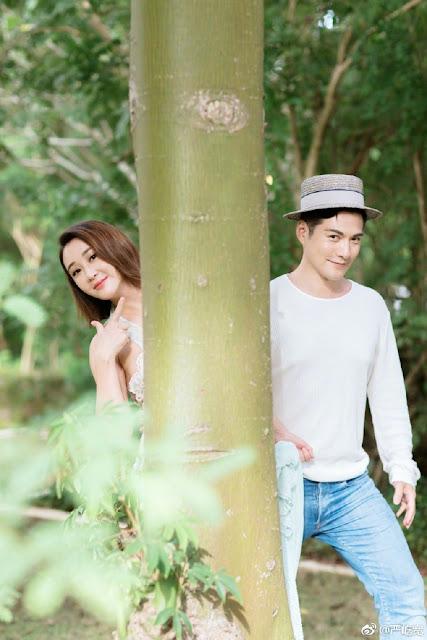 Kevin Yan Yikuan Sunny Du maternity photos