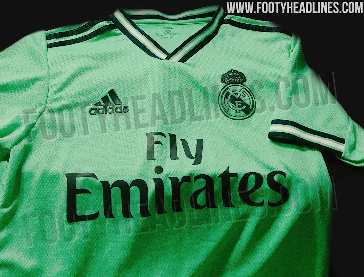 huge selection of 3ce1c e2b10 Real Madrid 19-20 Home, Away & Third Kits Leaked - Release ...