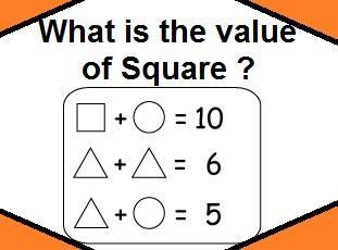 Simple Math Equations Brain Teaser