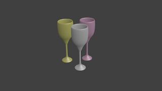 Tutorial Blender 2.69 - Membuat Gelas Warna-Warni