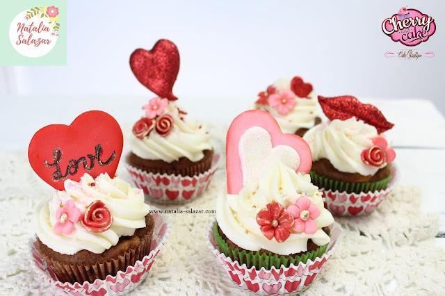 cupcakes love valentin