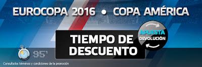 suertia promocion descuento 50 euros Eurocopa y Copa America 2016