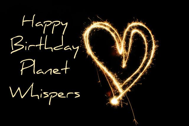 Happy Birthday Planet Whispers
