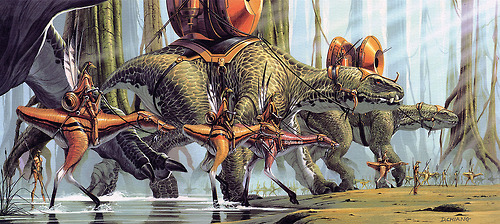 concept art of gungun army phantom menace