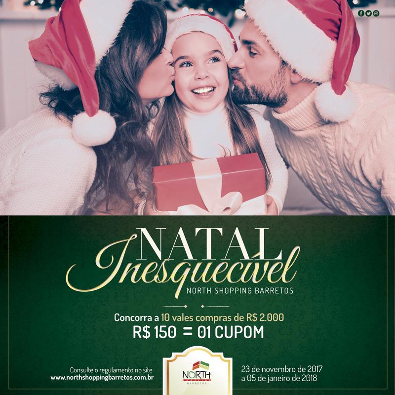 8f134f15928 North Shopping Barretos apresenta campanha Natal 2017