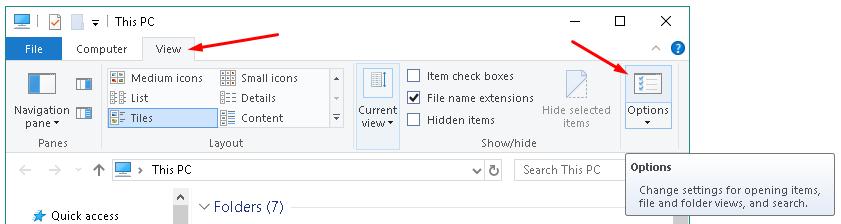 Menampilkan Folder yang Hidden di Windows 7, 8, dan 10