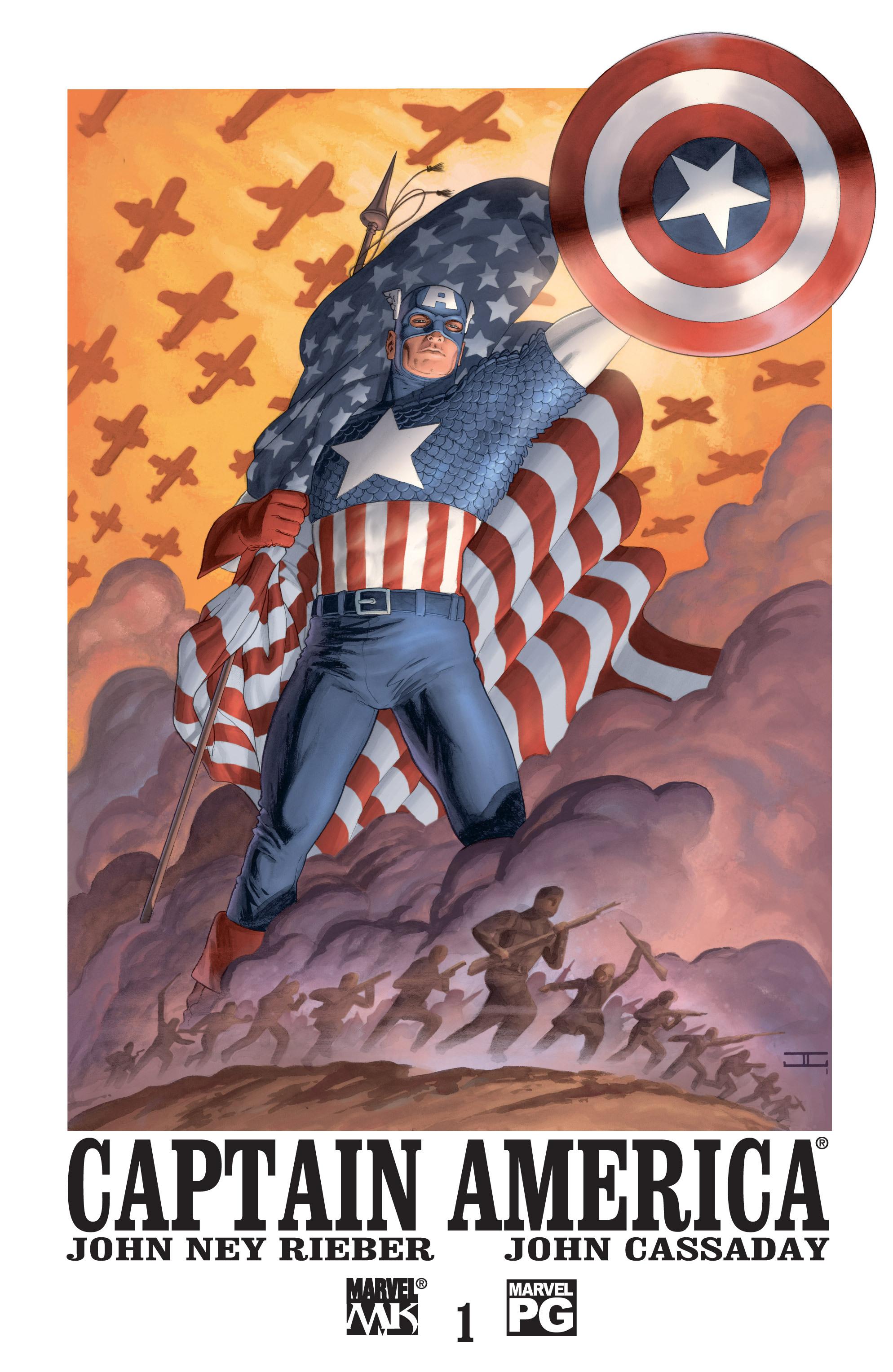 Captain America (2002) Issue #1 #2 - English 1