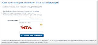 Licencias gratis de TuneUp Utilites 2010