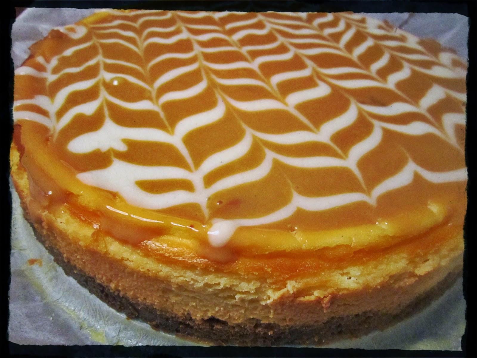 Petra Gaat De Keuken In Dulce De Leche Cheesecake