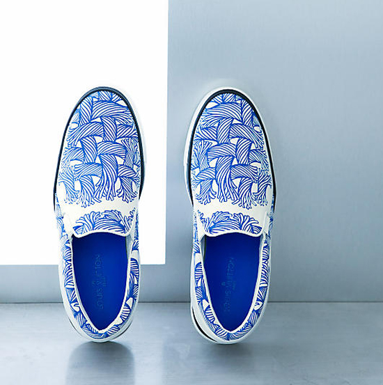 265996175359 More pics of Louis Vuitton Fall Winter 2015 Mens Twister + Sprinter Slip-on  Sneakers on my facebook fanpage.  LIKE  my fanpage if you enjoy reading  this ...