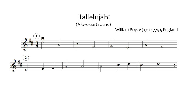 Hallelujah D Major supplement sheet music beginning orchestra
