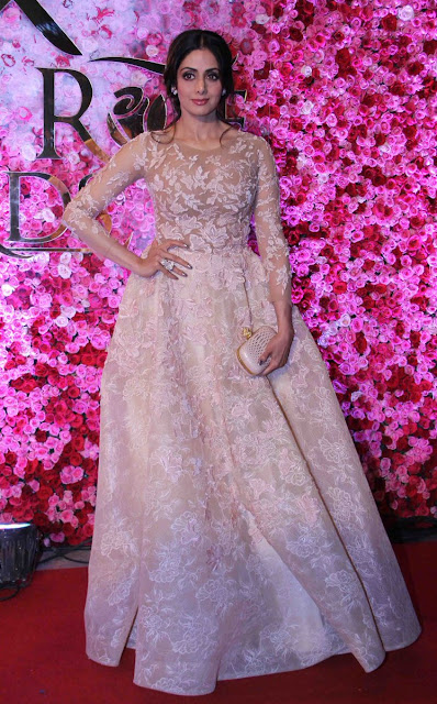 Sridevi at Lux golden rose Awards