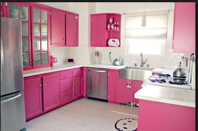 Desain Rumah Nuansa Pink Yang Cantik 9