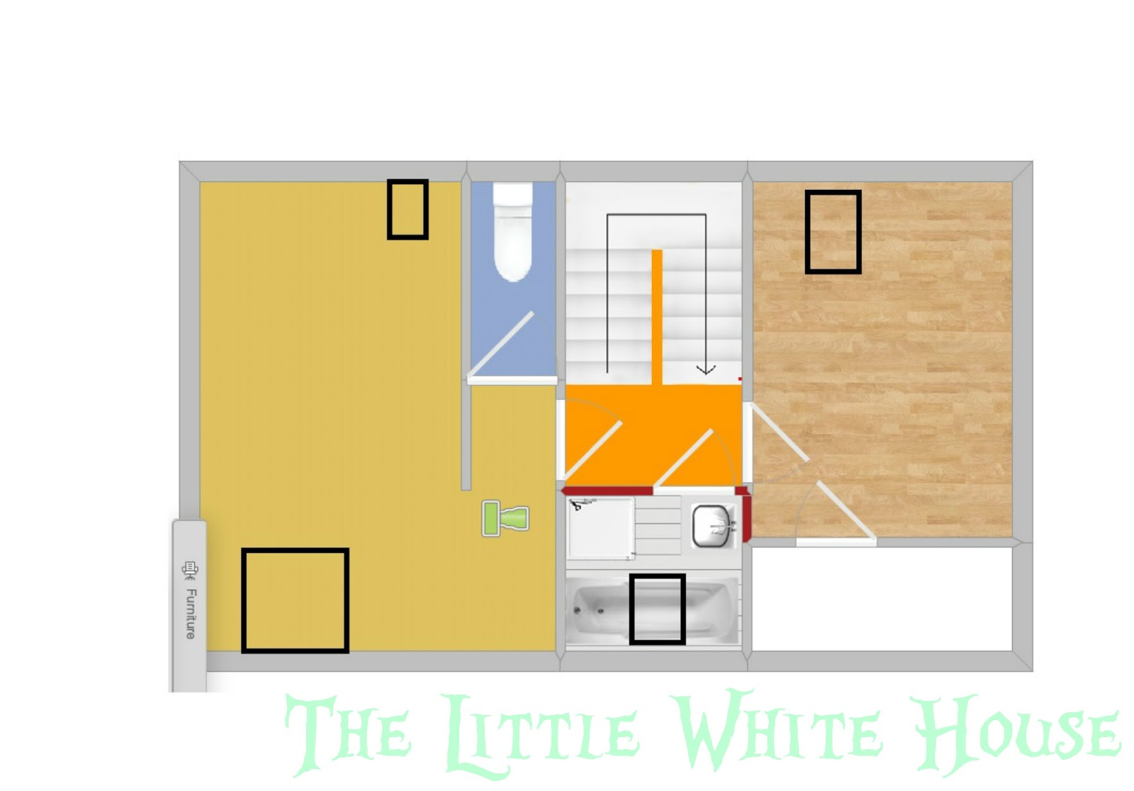 Faire Un Faux Plancher Salle De Bain the little white house on the seaside: keeping you in the loo