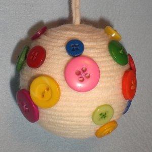 Bambino di mamma palline in lana e uncinetto for Antifurto con le palle