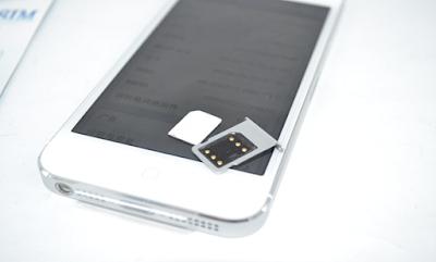 Sim ghép điện thoại iPhone 5 lock